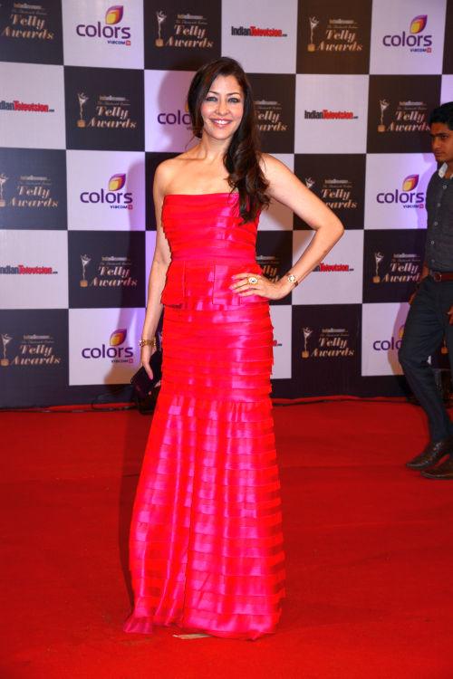 At The 13th Indian Telly Awards - Aditi Govitrikar
