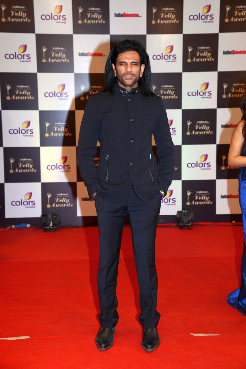 At The 13th Indian Telly Awards - Arav Chowdhury