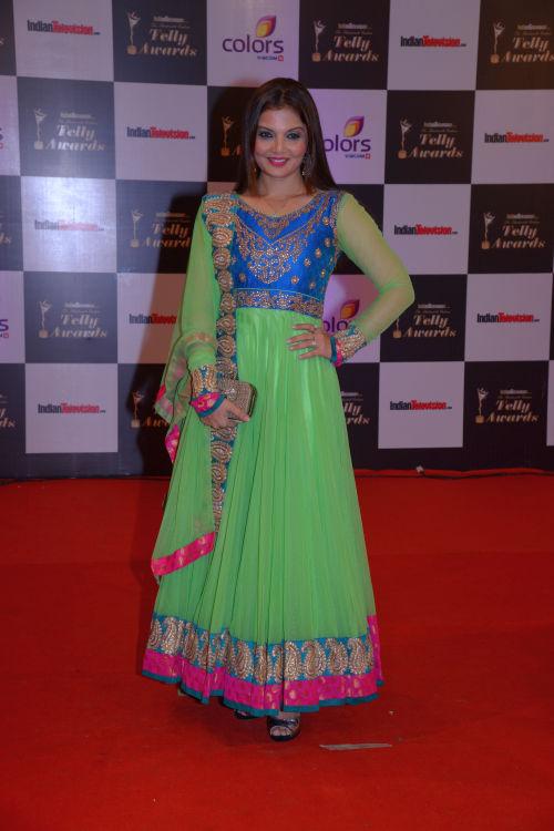 At the 13th Indian Telly Awards - Deepshikha