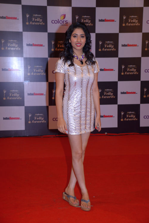 At the 13th Indian Telly Awards - Disha Parmar