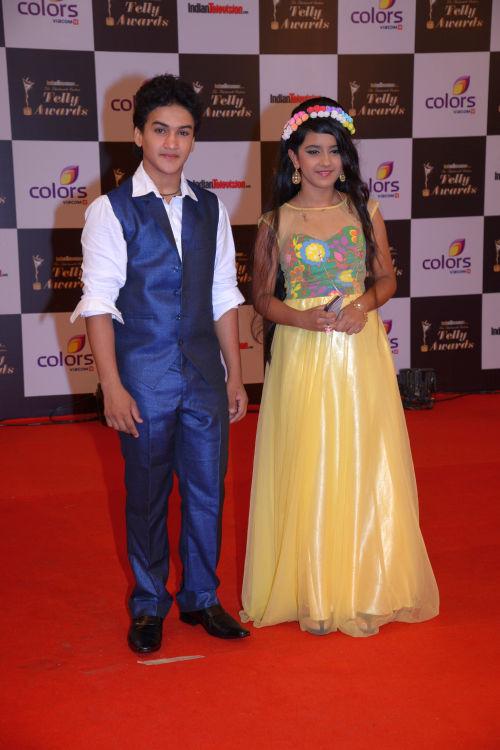 At the 13th Indian Telly Awards - Faisal Khan and Roshni Walia