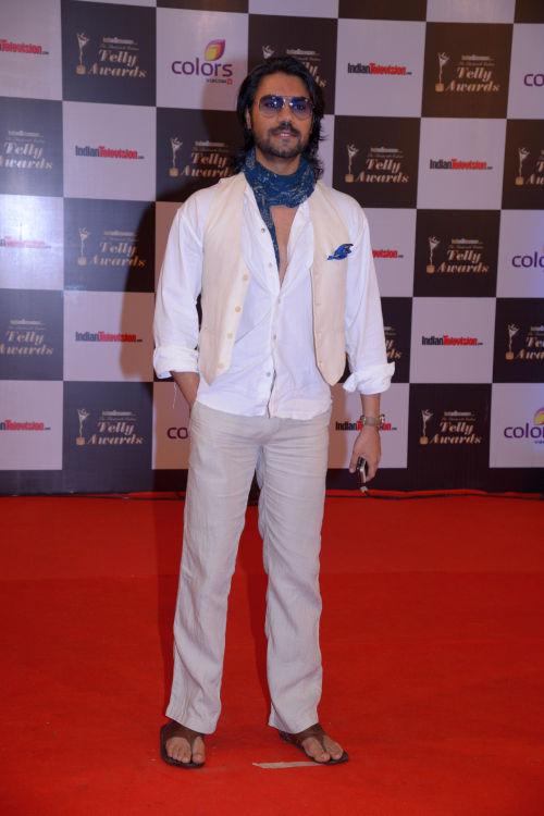 At the 13th Indian Telly Awards - Gaurav Chopra