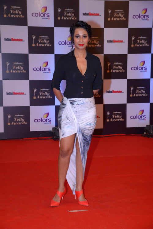 At the 13th Indian Telly Awards - Kashmira Shah