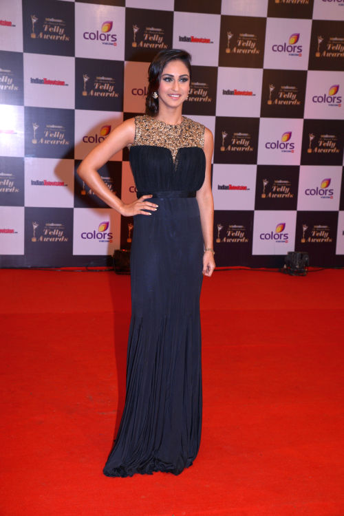At The 13th Indian Telly Awards - Krystal D'Souza