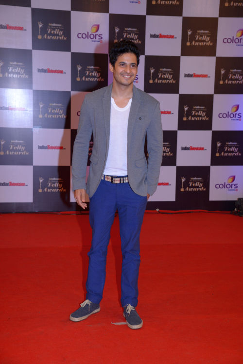 At the 13th Indian Telly Awards - Mohit Malhotra