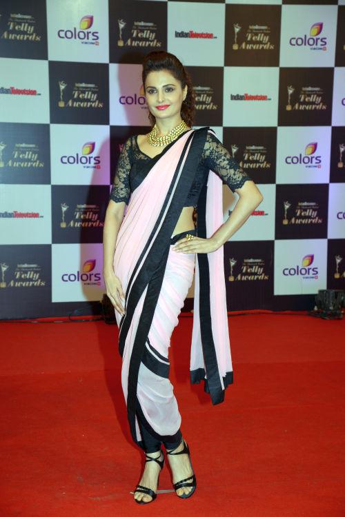 At The 13th Indian Telly Awards - Monika Bedi