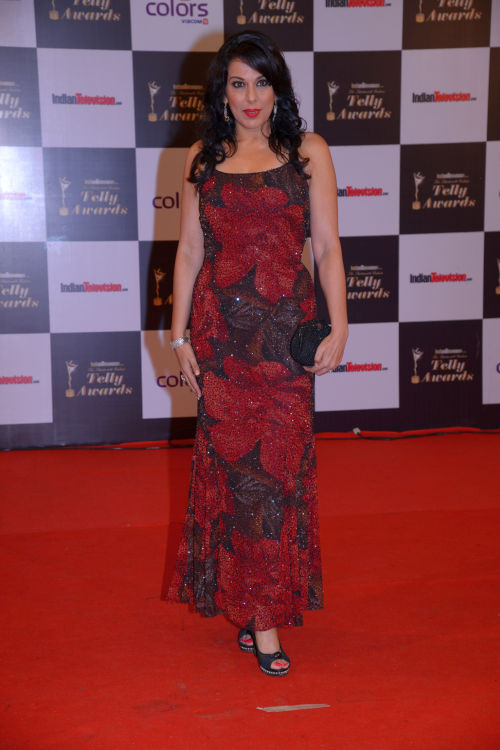 At the 13th Indian Telly Awards - Pooja Bedi