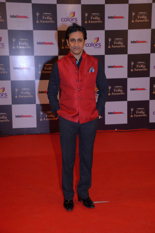 At The 13th Indian Telly Awards - Rajeev Paul