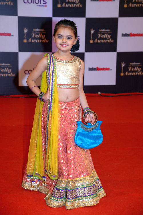 At The 13th Indian Telly Awards - Ruhanika Dhawan