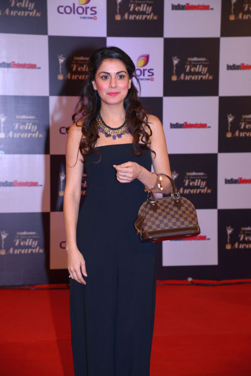 At the 13th Indian Telly Awards - Shradha Arya
