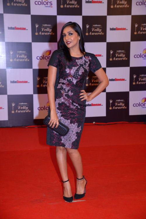 At the 13th Indian Telly Awards - Shweta Salve