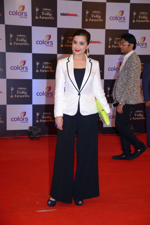 At the 13th Indian Telly Awards - Simone