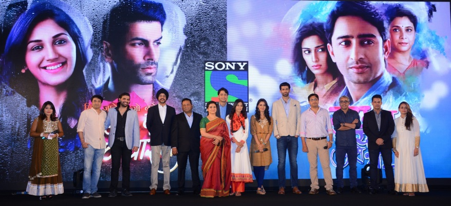 Entire Cast of Sony Entertainment Television's  KRPKAB & EDKV at the launch of the shows along with NP Singh & Danish Khan