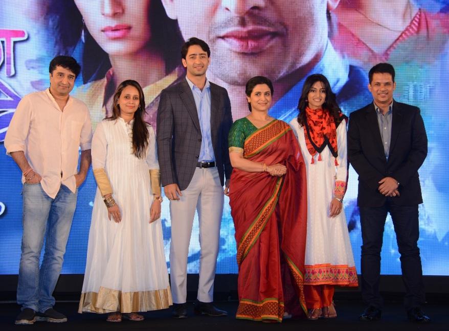 Kuch Rang Pyar Ke Aise Bhi Cast at the launch of the show