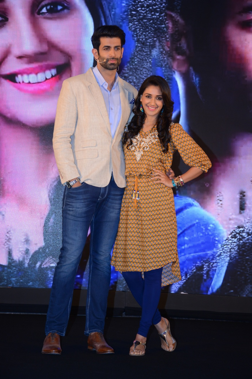 Namik Paul & Nikita Dutta at the at the launch of Sony Entertainment Television's EDKV