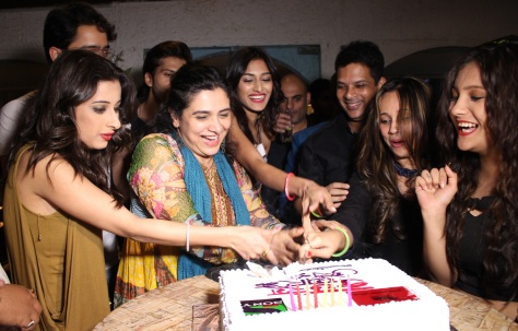 Group Cake Cutting