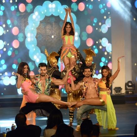 Karan Tacker, Arjun Bijlani,Vartika Singh, Aafreen Rachel Vaz and Sushrii Shreya Mishraa
