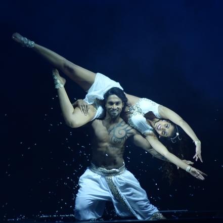 Salman and Manasvi Mamgai performance