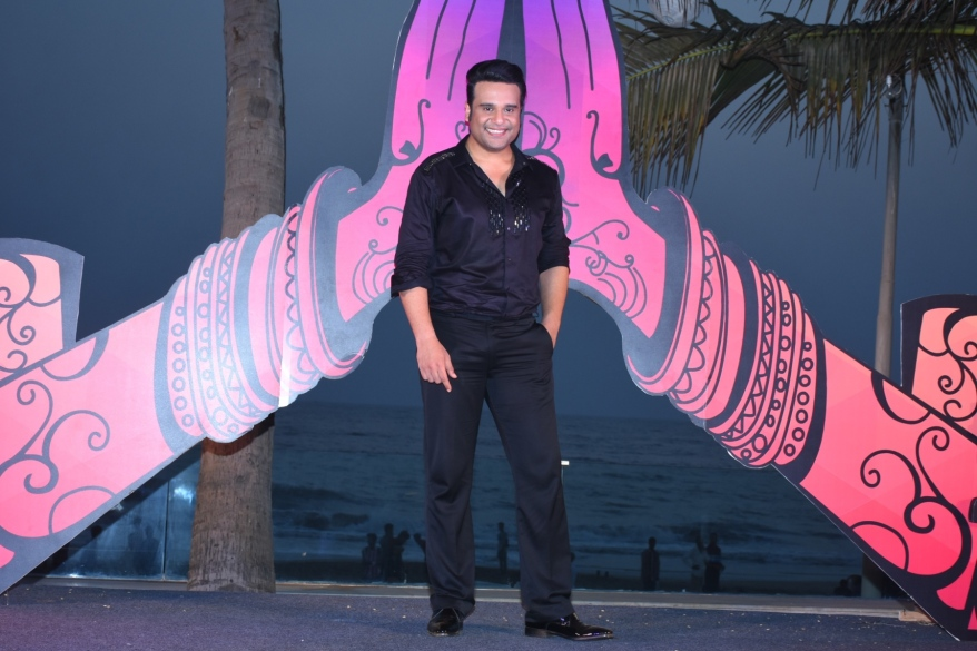 Krushna Abhishek at the launch of India Banega Manch (2).JPG