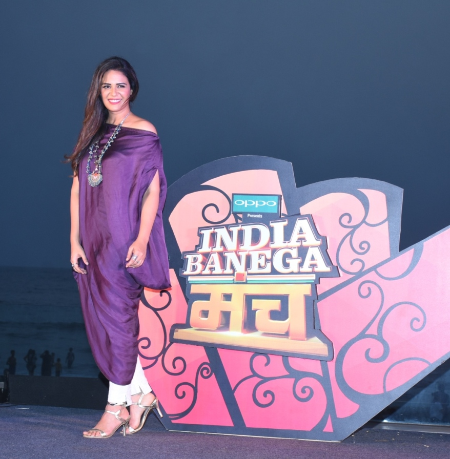 Mona Singh at the launch of India Banega Manch (2)