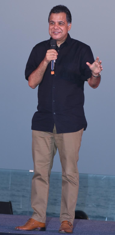 Raj Nayak at the launch of India Banega Manch.JPG