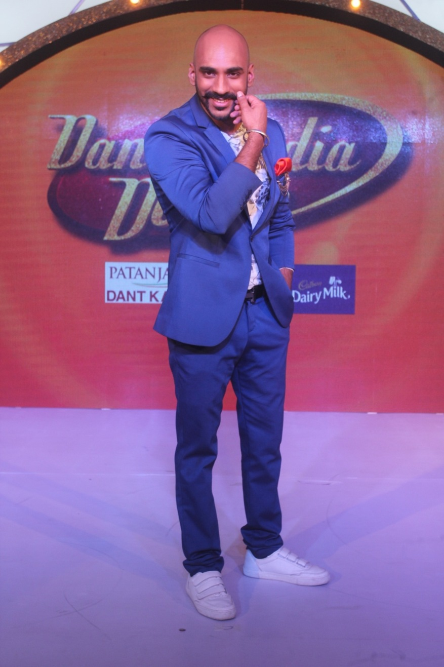 Sahil Khattar at the Dance India Dance season 6 press conference