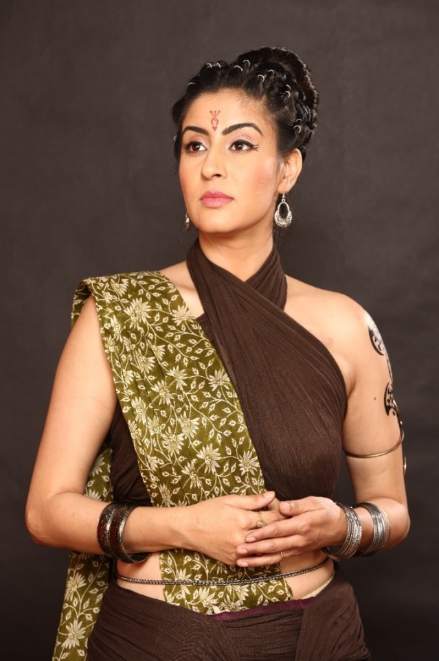 Ashlesha Sawant as Pritha (Dasyu Look) .jpg