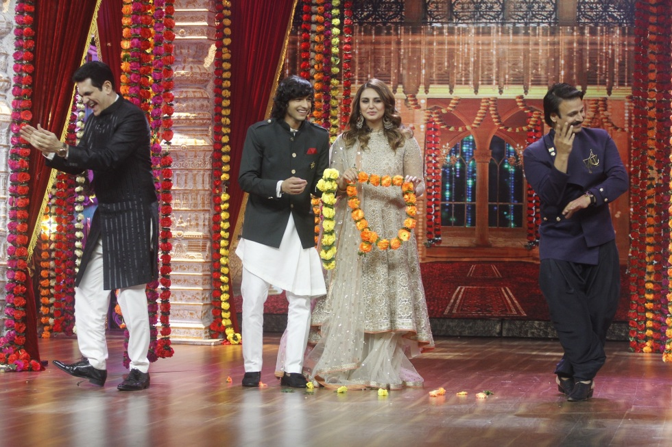 Are Shantanu Maheshwari and Huma Qureshi tying the knot on the sets of India's Best Dramebaaz (3).JPG