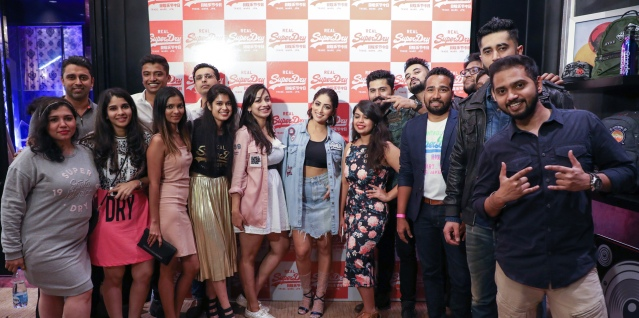 The Core Team of Superdry with Yami Gautam.JPG