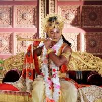 Saurabh Pandey - I visit Iskcon temple to enjoy the grand celebration of Lord Krishna's Birthday.