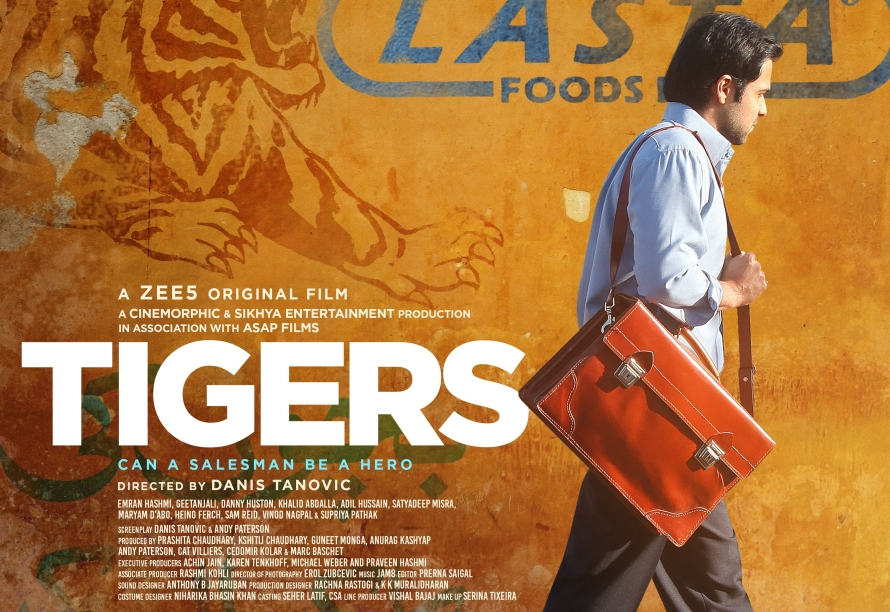 TIGERS on ZEE5_Poster