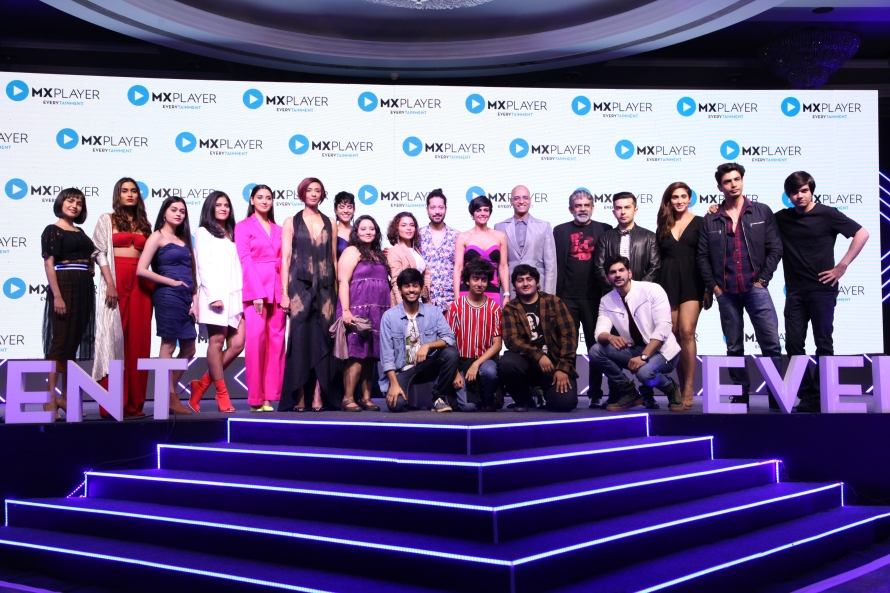 Cast of MX Player Originals at MX Player Launch in Mumbai_19022019.JPG