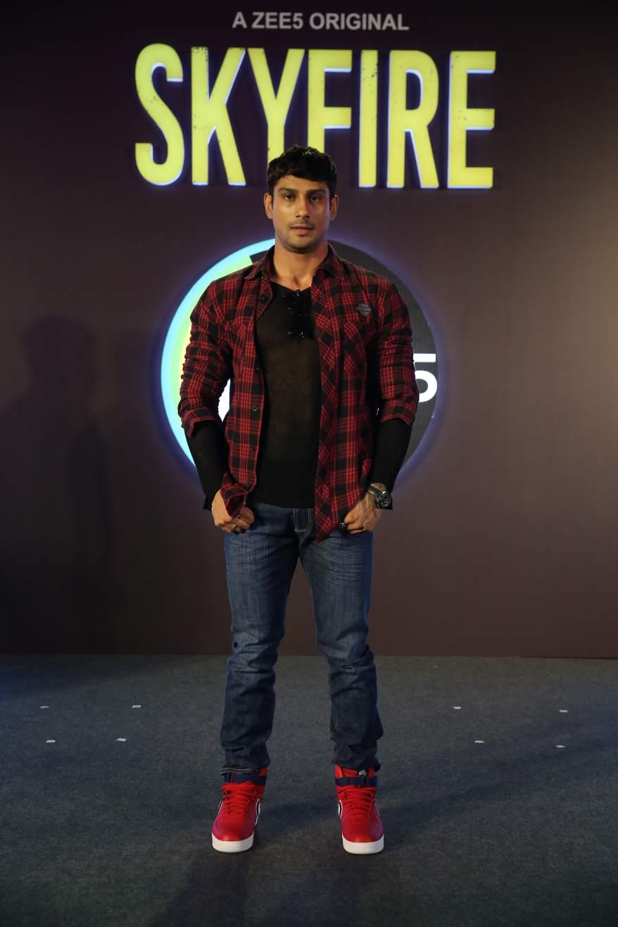 Prateik Babbar at Skyfire launch.JPG