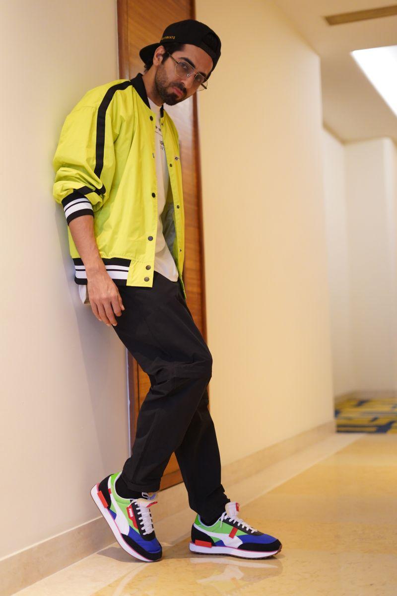 Ayushmann Khurrana PUMA RIDER Chandigarh-3